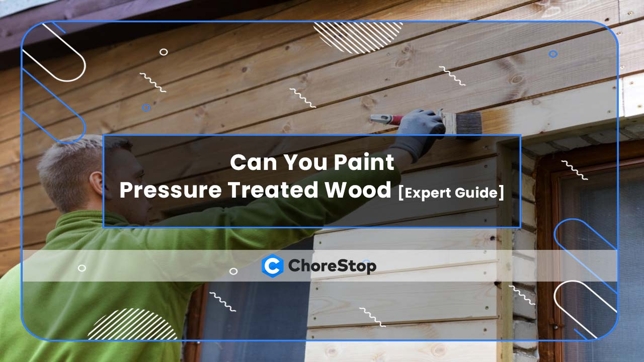 Can You Paint Pressure Treated Wood [Expert Guide]